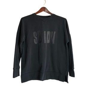 Sweaty Betty LDN Crewneck Oversized Sweater